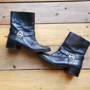 Michael Kors motorcycle boots